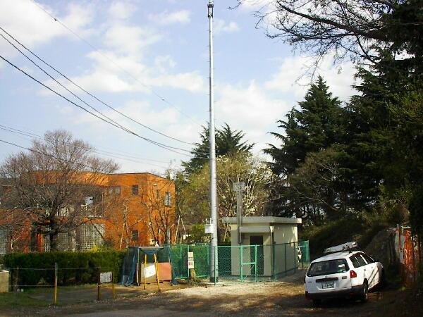 千葉市明徳学園測定局舎他1か所新築電気設備工事