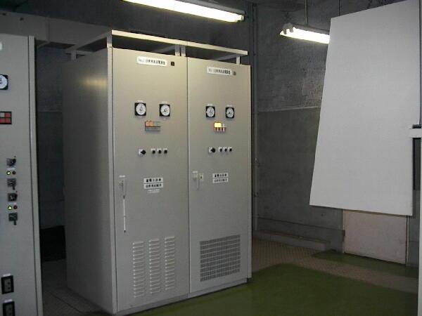 都ポンプ場No.1自家発直流電源装置更新工事